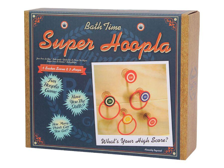Hoopla Badewannen Wurfspiel mit 5 Zielen und 3 Hoops P619065