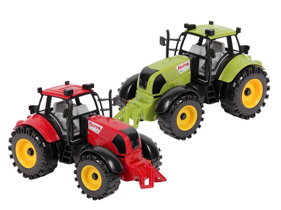 Traktor Spielzeug groß 22 cm von ALSINO