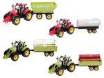 Traktor Spielzeug groß mit Anhänger 46 cm lang von ALSINO 001