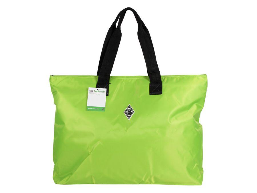 Borussia Mönchengladbach BMG Shopper Freizeittasche Shopperbag Fohlenelf grün Reise Zubehör Strandtasche Tasche