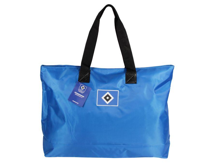 Hamburger SV Shopper Freizeittasche Shopperbag HSV blau Reise Zubehör Strandtasche Tasche