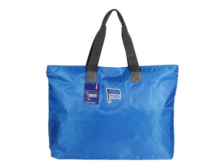Hertha BSC Berlin Shopper Freizeittasche Shopperbag Alte Dame blau Reise Zubehör Strandtasche Tasche