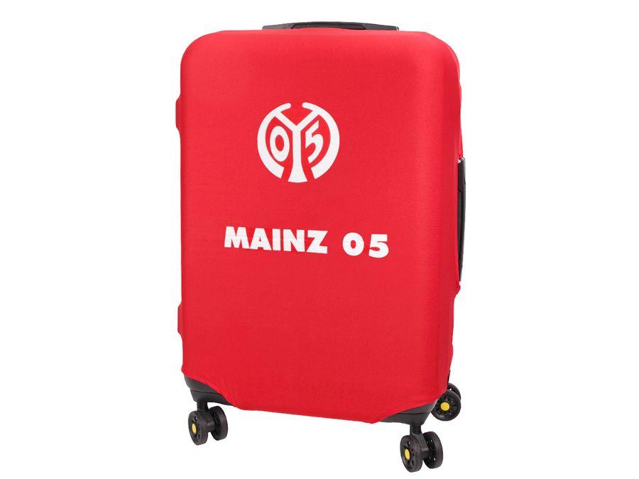 Kofferhülle Kofferüberzug Mainz 05 Größe L City Koffer Trolley Hülle Original Fanartikel ALSINO