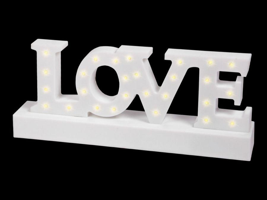LED Stimmungsbeleuchtung LOVE