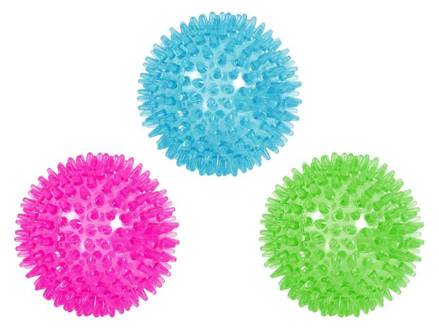 Hundespielzeug Noppenball Hunde Anti-Stress-Ball Stachelball Igelball 7,5 cm von ALSINO