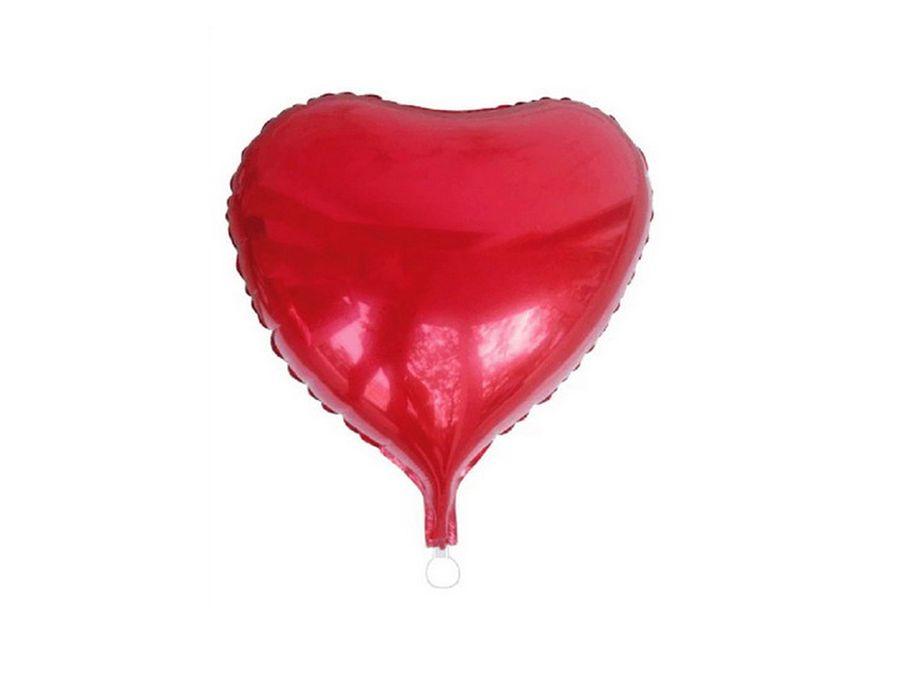 Folienballon Herz rot Geburtstag Luftballon T71178