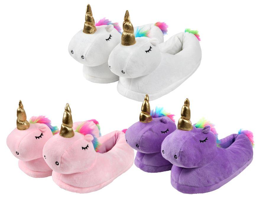 Einhorn Hausschuhe Unicorn Pantoffeln