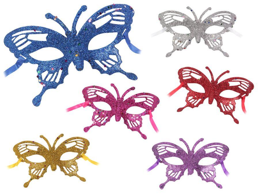 Venezianische Karneval Masken Augenmaske Karneval Faschingmaske Karnevalsmaske Schmetterling von Alsino
