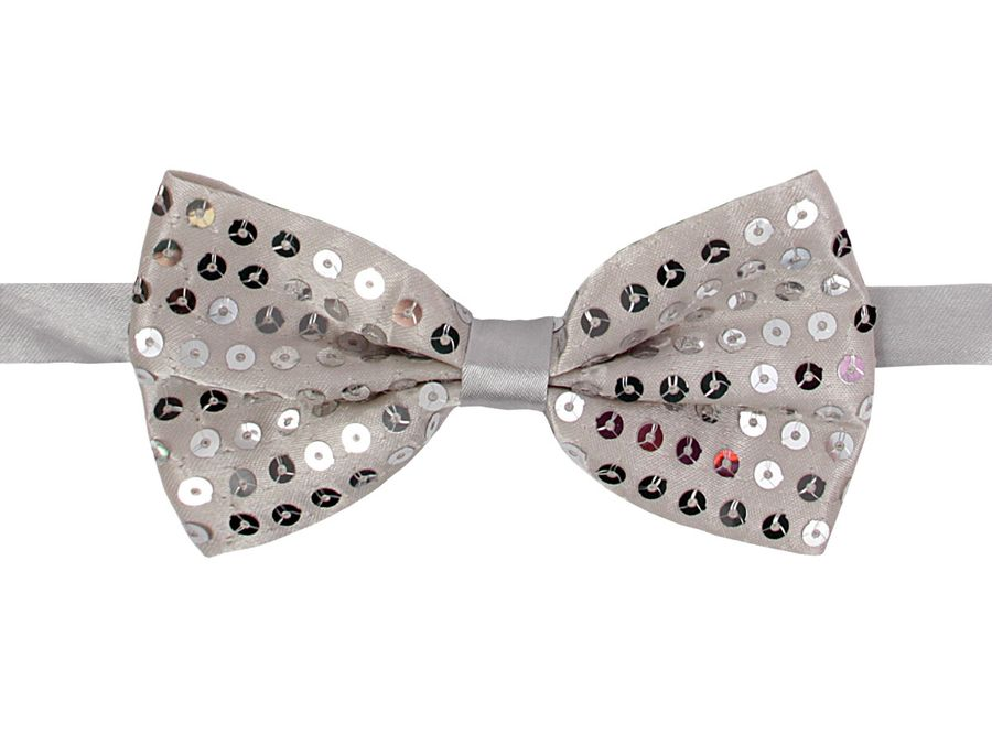 Pailletten Party Fliege Bowtie – Bild 10