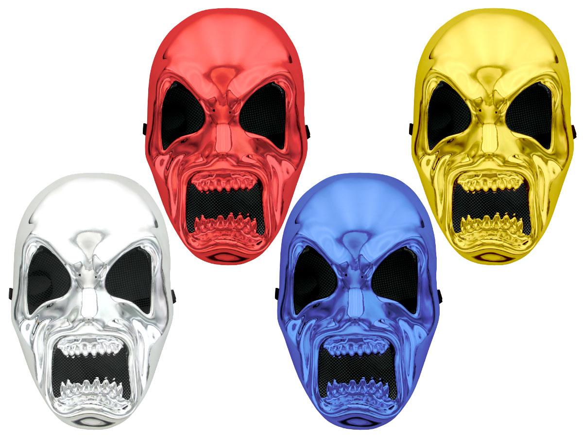 New Adults Black /& Bone Horror Skull Masks