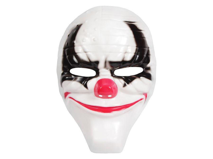 Halloween Maske Halbmaske Kunststoff Freaky Spooky Horrormaske Gruselmaske