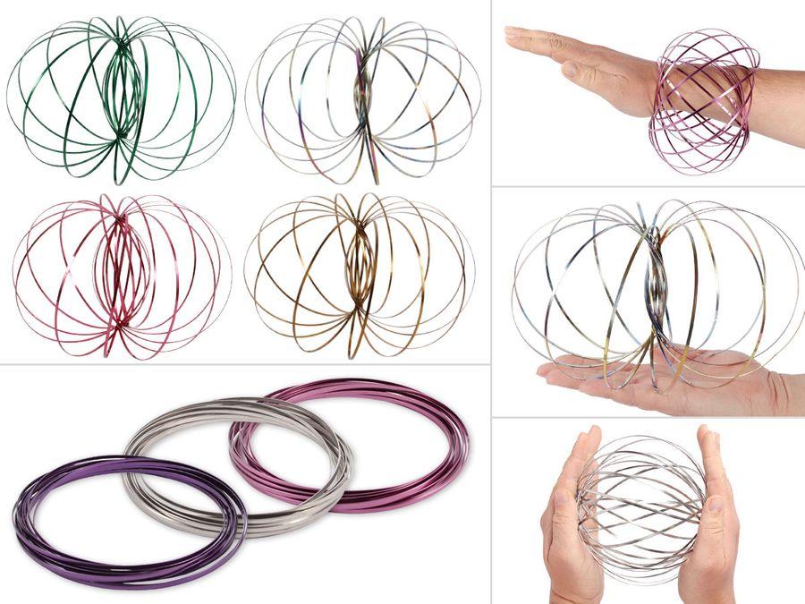 Flow Rings Spielzeug Spirale kinetisch