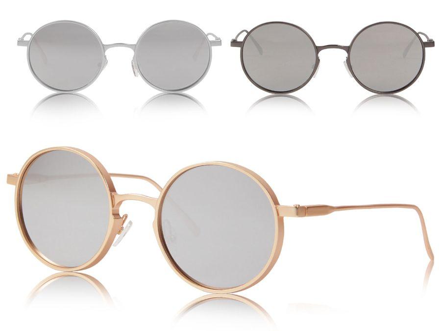 Loox Sonnenbrille London Nerdbrille Fliegerbrille Damen Herren Metall Unisex - Gläser aus Polycarbonat - stabiles Gestell