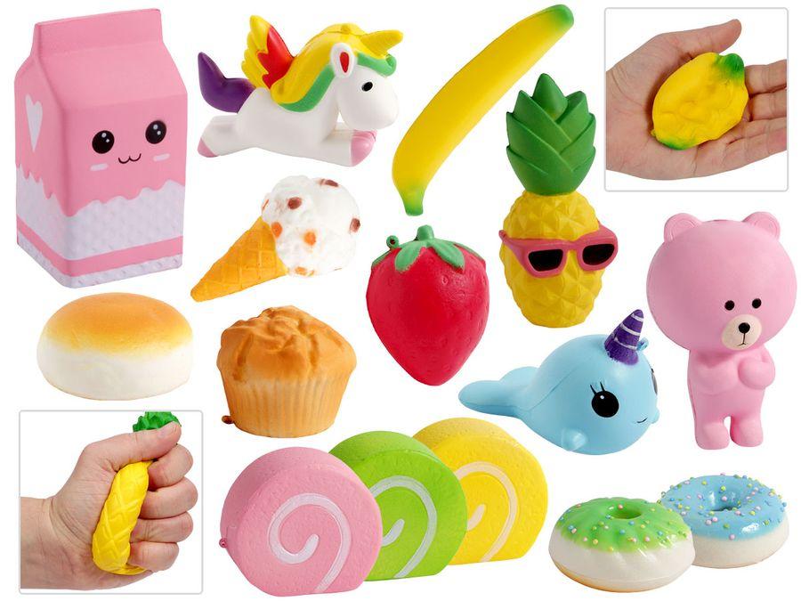 Squishy Spielzeug Squishies Knautschi für Kinder von ALSINO