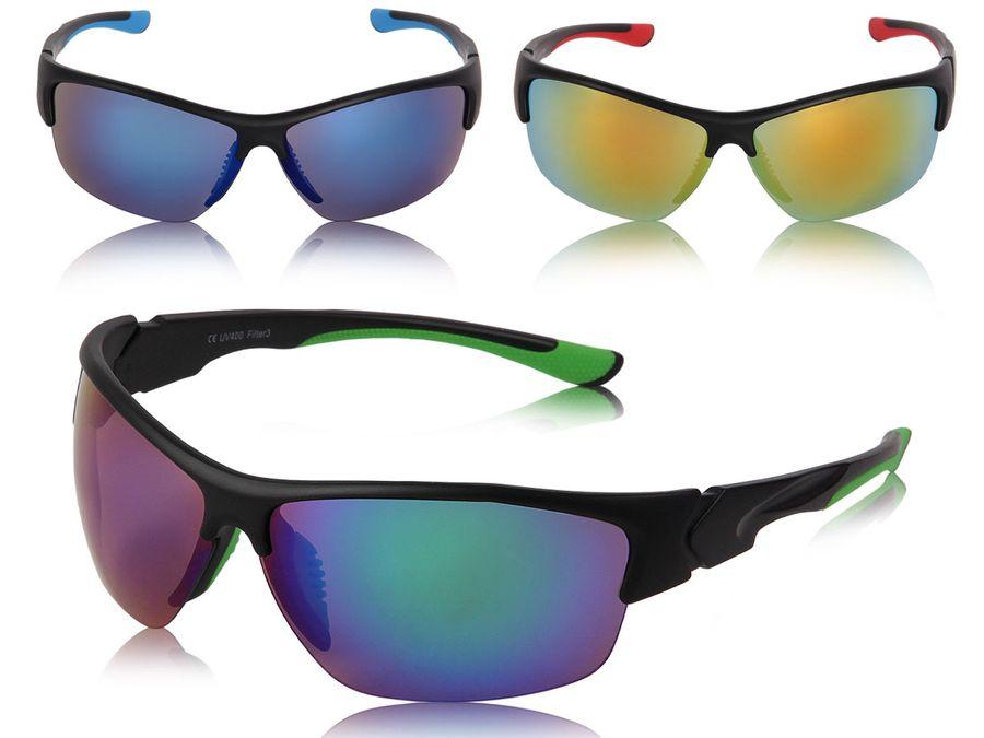 Alsino Loox Sonnenbrille Melbourne Sportbrille Fliegerbrille Damen Herren Unisex - Gläser aus Polycarbonat - stabiles Gestell