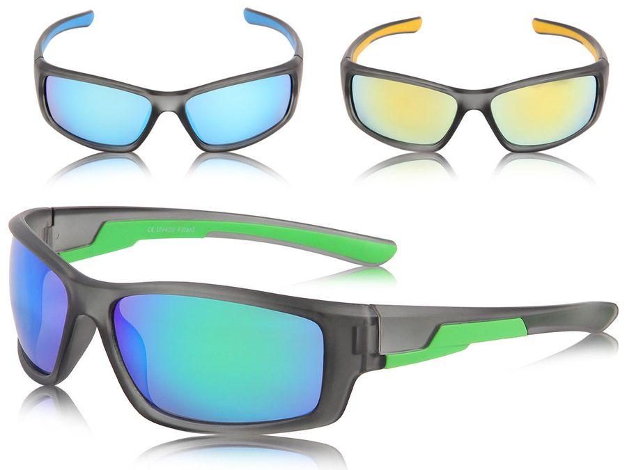 Alsino Loox Sonnenbrille Monaco UV400 Sportbrille Damen Herren Unisex - Gläser aus Polycarbonat - stabiles Gestell