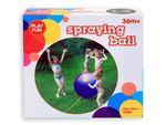 Wasser Ball Sprinkler 90 cm Regenbogen Farben Outdoor 79250 von Alsino 001