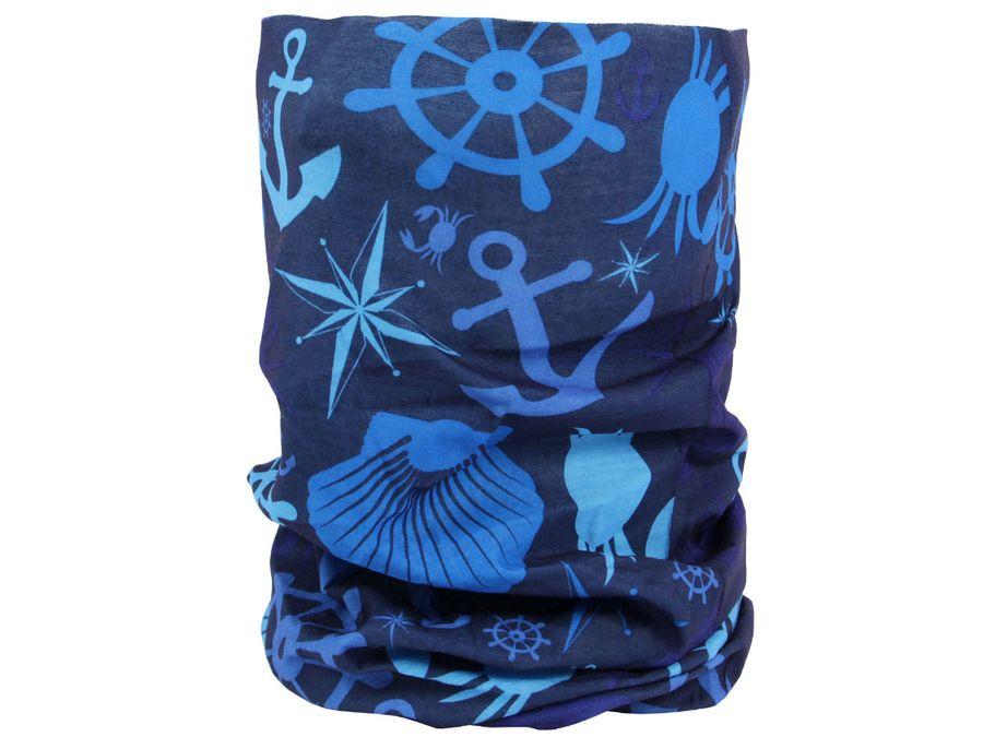 Multifunktionstuch 49 x 23 cm Maritim-Look Atmungsaktiv Wetterfest – Bild 14