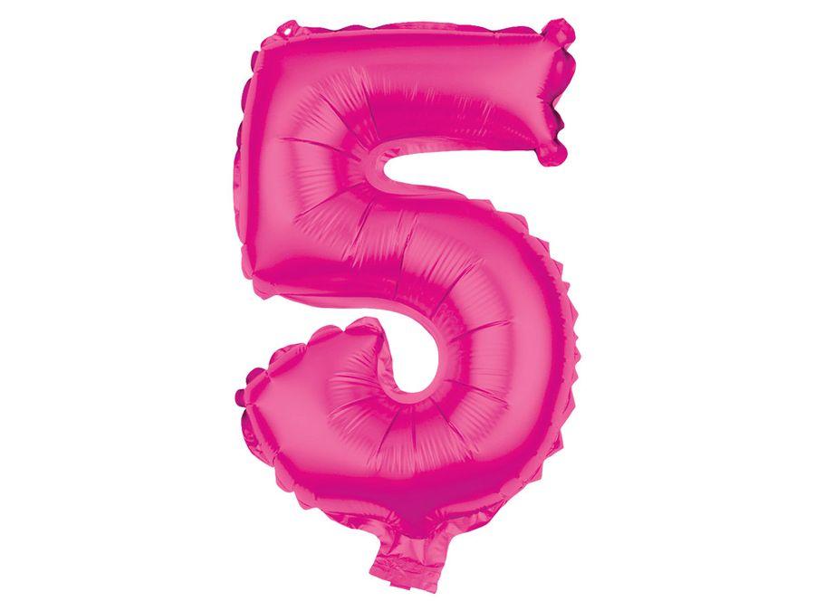 XXL Folienballons Luftballon Heliumballon Zahlenballon Ziffer 0-9 pink 80 cm Party Geburtstag Hochzeit von Alsino – Bild 7