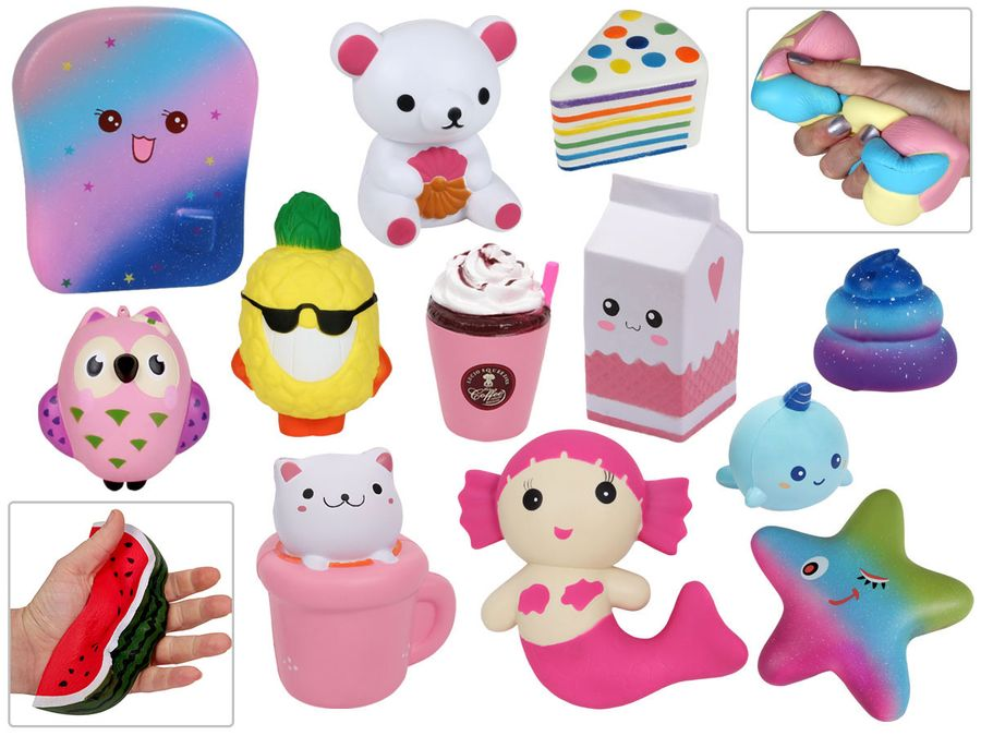 Niedliche Squishies Anti Stress Spielzeug