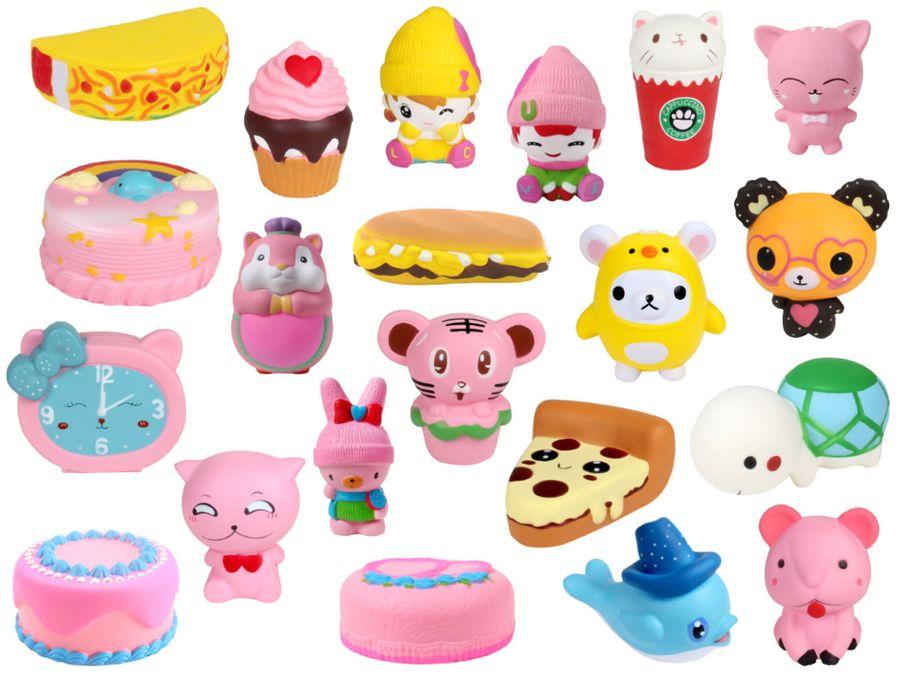 Niedliche Squishies Anti Stress Spielzeug Slow Rising Kinder & Erwachsene
