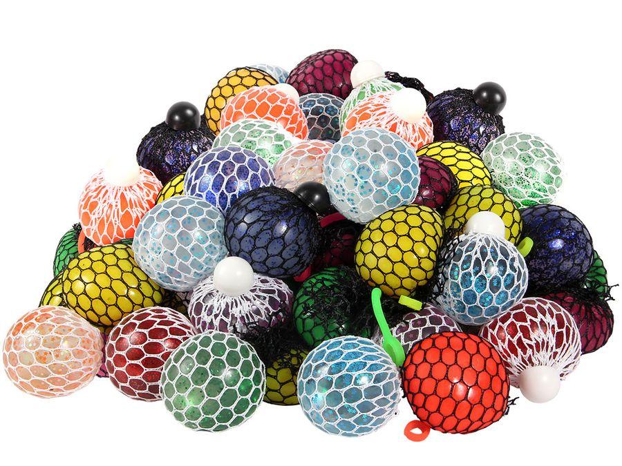 Mesh Ball Anti Stress Quetschbälle im Netz