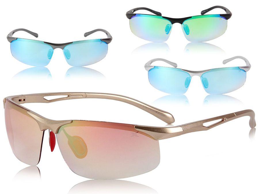 Loox Sonnenbrille Sportbrille UV400 Schutz Herren Damen Sport - 141 Rimini