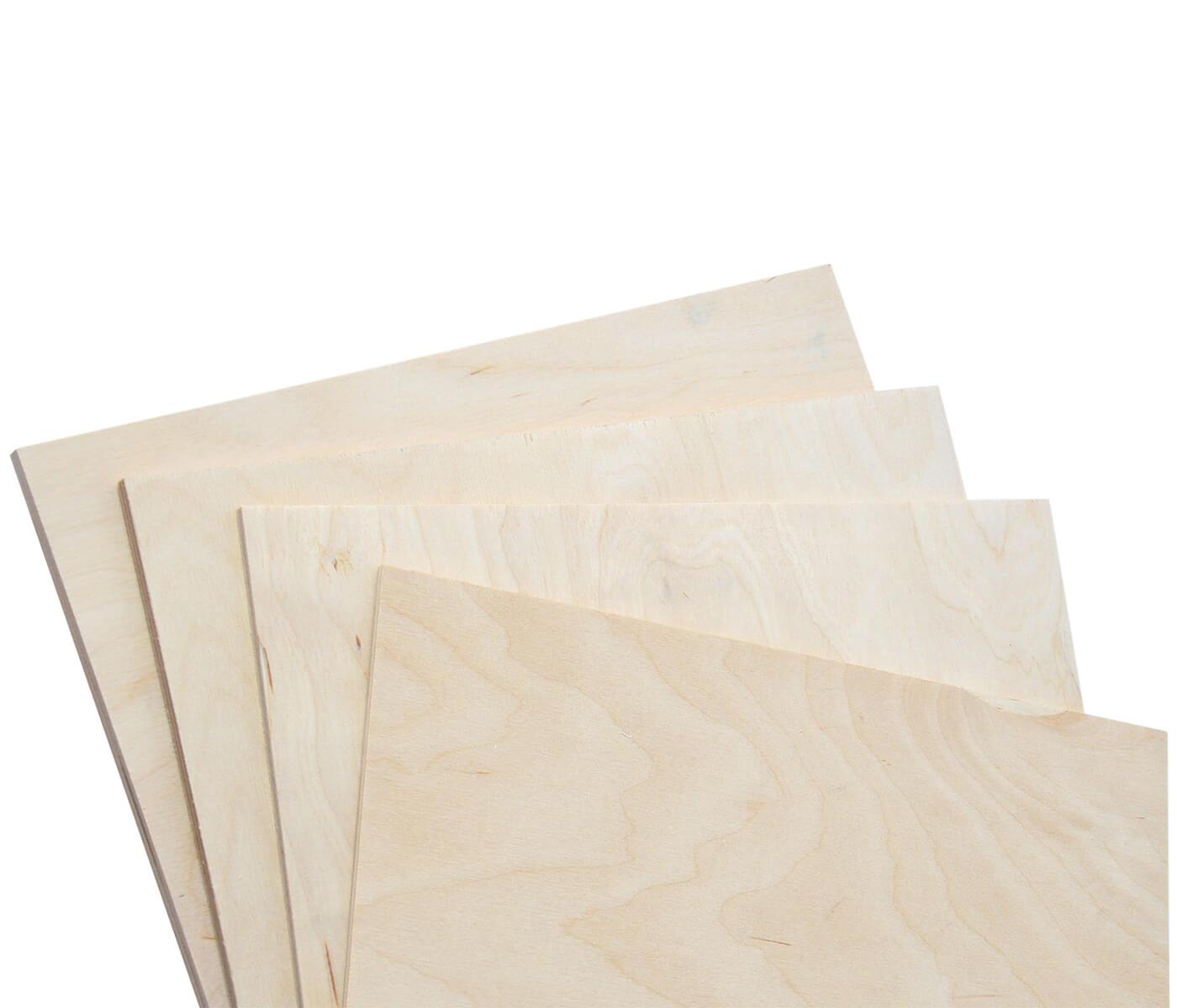 9 mm Multiplexplatte Zuschnitt Sperrholz-Platten Holz Massiv Naturfarbe unbehandelt Breite 30 cm L/änge 45 cm