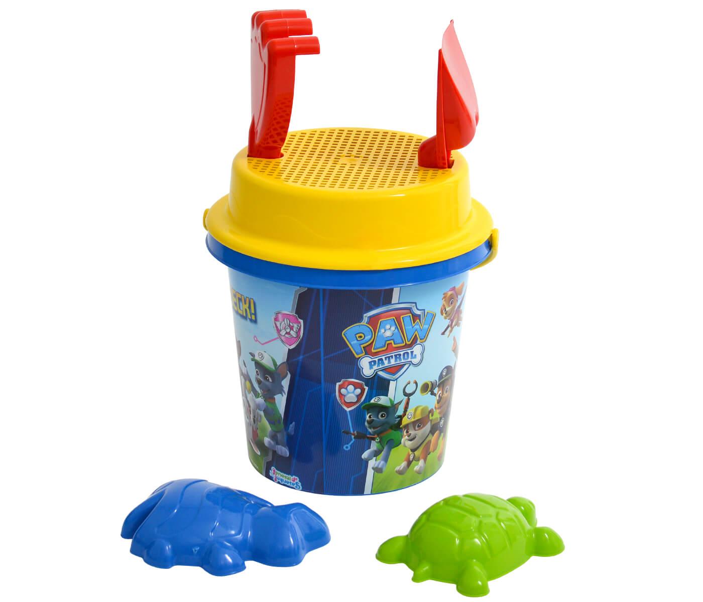 Satz von 2 zufälliger farbiger Plastiksand Schaufel Rührstange Spielzeug