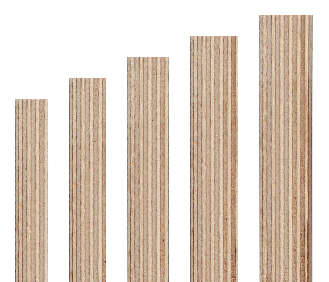 Sonderma/ße ! 30x60cm Zuschnitt auf Ma/ß 15mm starke Siebdruckplatten Multiplexplatten Holzplatten Tischplatten