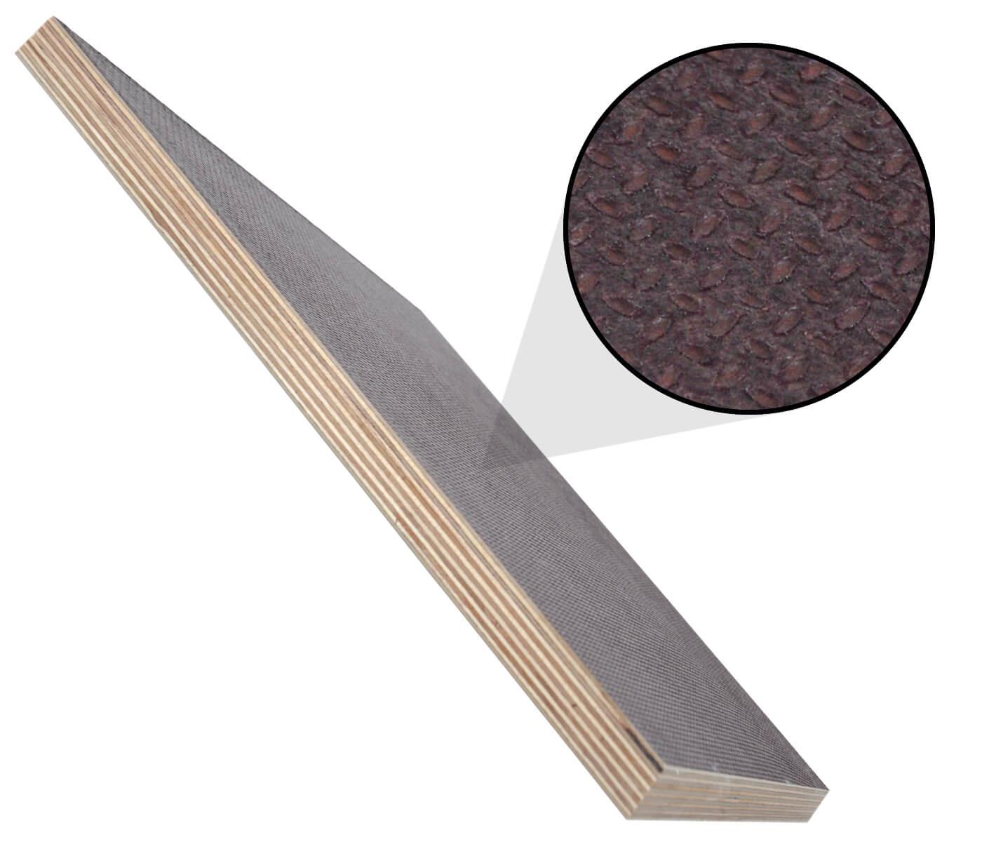 Siebdruckplatte 24mm Zuschnitt Multiplex Birke Holz Bodenplatte 70x30 cm