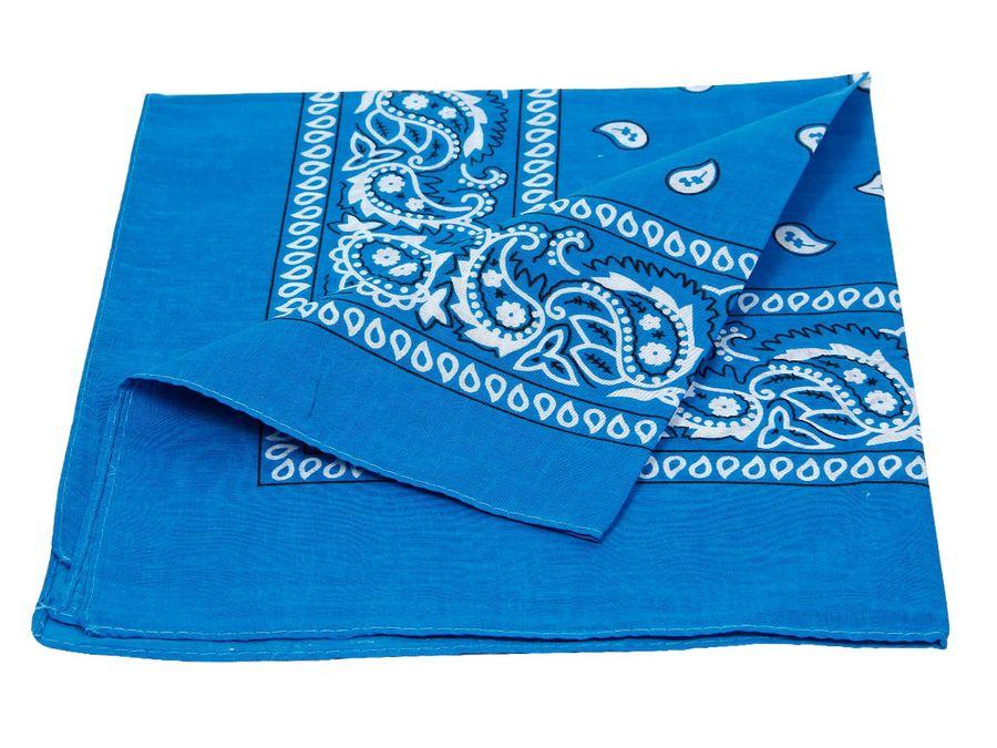 Bandana dunkelblau paisley Zandana 100% Cotton 100