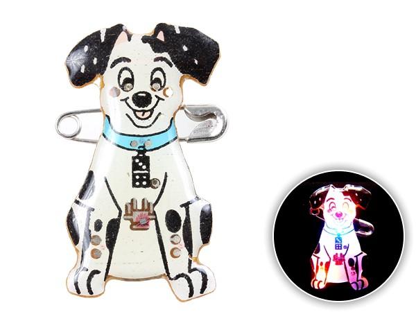 Blinki Anstecker Blinky Brosche Pin Button Dalmatiner 135