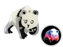 Blinki Anstecker Blinky Brosche Pin Button Panda Bär 122