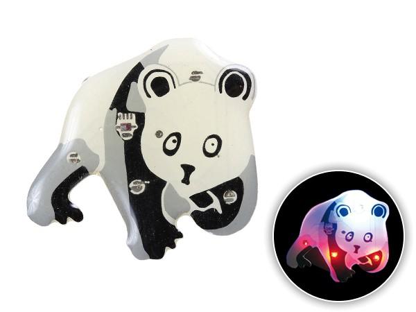 Blinki Anstecker Blinky Brosche Pin Button Panda Bär 122