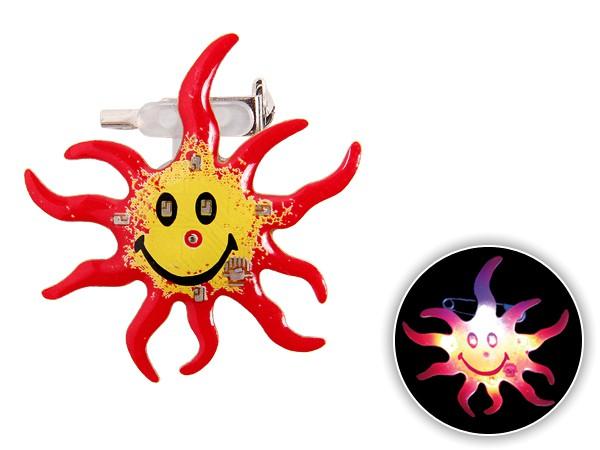 Blinki Anstecker Blinky Brosche Pin Button Sonne 69