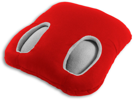 Foot warmer | Square Colour: Fire – Bild 1
