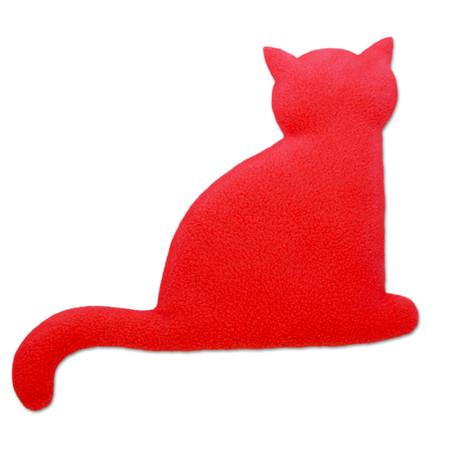 Wärmekissen | Die Katze Minina | sitzend | groß Farbe: Feuer / Mitternacht – Bild 1