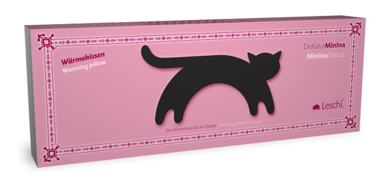 Warming pillow | Minina the cat | standing | big – Bild 4