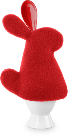 Egg cosy | Luigi the rabbit Colour: Fire – Bild 1