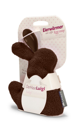 Egg cosy | Luigi the rabbit Colour: Chocolate – Bild 3