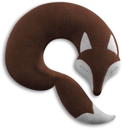 Reisekissen | Der Fuchs Peter Farbe: Schokolade / Mitternacht – Bild 1