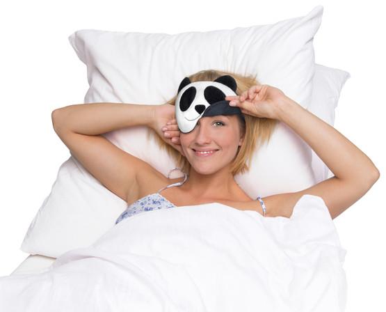 Eye mask | Lien the panda Colour: Midnight / Midnight – Bild 2