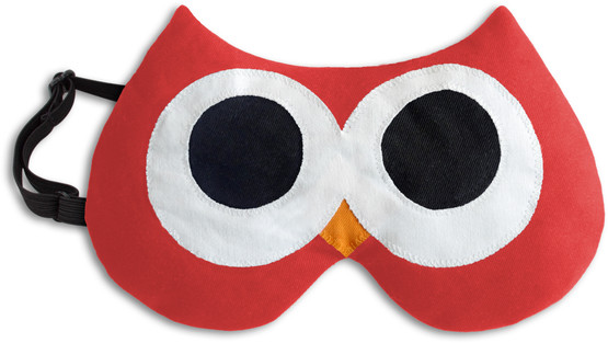 Eye mask | Stella the owl Colour: Fire / Midnight – Bild 1