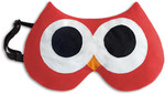 Eye mask | Stella the owl Colour: Fire / Midnight