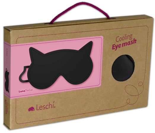 Eye mask | Luna the cat Colour: Midnight / Midnight – Bild 3
