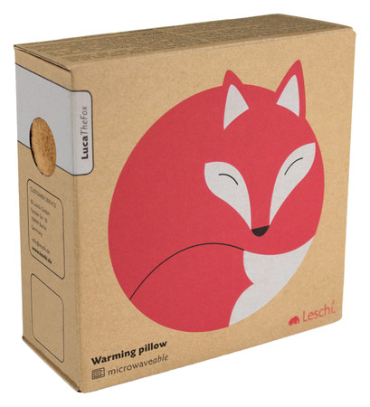 Warming pillow | Luca the fox Colour: Sand / Midnight – Bild 2