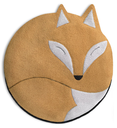 Warming pillow | Luca the fox Colour: Sand / Midnight – Bild 1