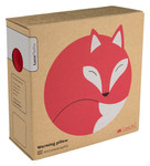Warming pillow | Luca the fox Colour: Sand / Midnight