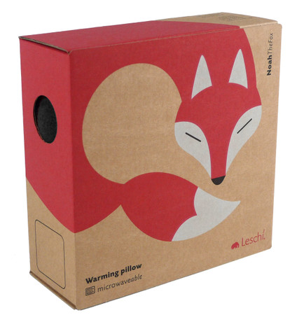 Warming pillow | Noah the fox Colour: Chocolate / Midnight – Bild 3